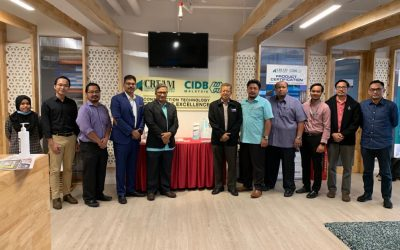 Visiting to CIDB & CREAM For Potential Contract Research Project on 29th July 2020
